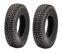 2 Stud Tread Tires for Gravely Walk Behind Tractors 4.80/4.00-8 (13836)