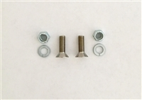 Chipper Blade Fasteners Craftsman, Troy-Bilt, MTD Screws 710-1054 Nuts 712-0411 (910-1054, 912-0411)