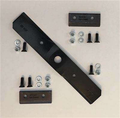 Craftsman/Troy-Bilt/MTD-OEM Shredder/Chipper Blade Kit 742-04050 781-0490 (942-04050/981-0490)