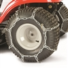 "MTD/Troy-Bilt Lawn Tractor Tire Chain Kit Fits 20"" x 8"" x 8"" and 20"" x 8"" x 10"" Rear Lawn Tractor Tires (490-241-0023)"