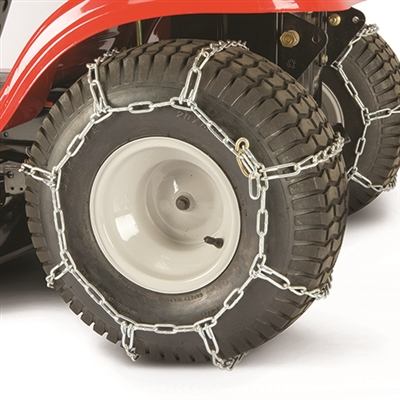 "MTD/Troy-Bilt Lawn Tractor Rear Tire Chains 20"" x 10"" x 10"" (490-241-0024)"