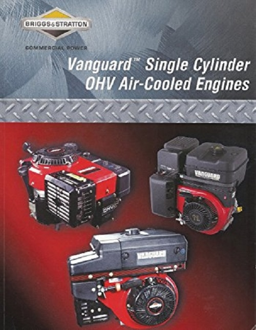 briggs stratton vanguard single cylinder ohv air cooled repair rh chalmersindustries com Old Briggs and Stratton Manuals Briggs and Stratton 3Hp Manual