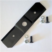 OEM Troy-Bilt/Craftsman Chipper/Shredder Blade With Fasteners 742-0571, 942-0571 (942-0571)
